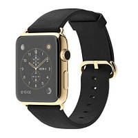 Apple Watch Edition 42mm 18-Karat Yellow Gold Case with Black Classic Buckle