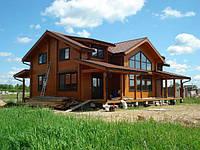 Клееный брус дом, экологический дом, строительство недорого и качественно. Финский домик