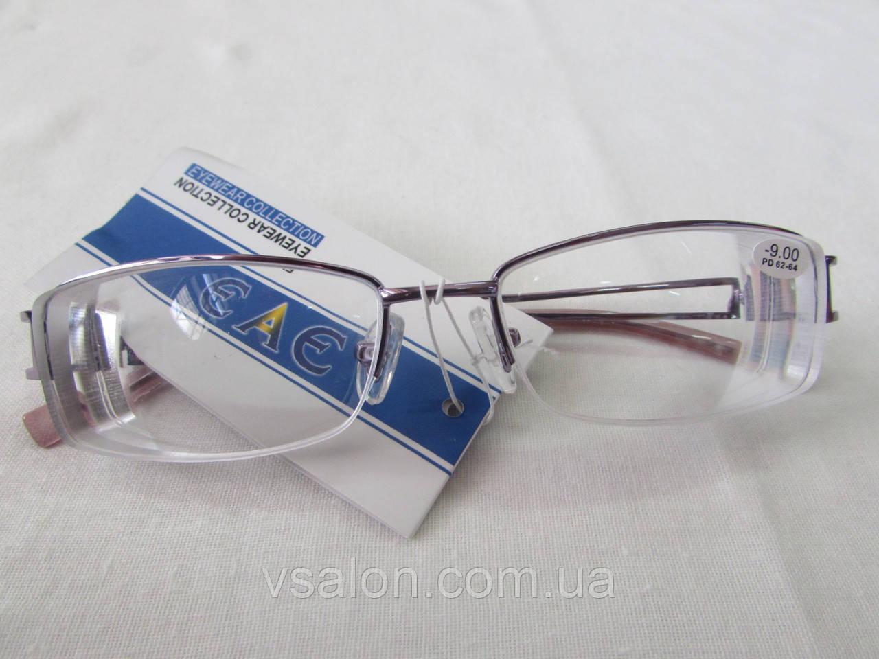 Очки с диоптриями до -10 М010