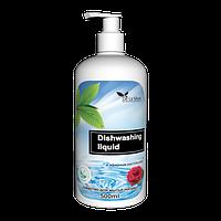 Средство для мытья посуды с эфирным маслом розы DeLaMark
