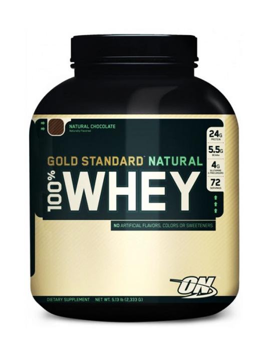 Протеин Optimum Nutrition 100% Natural Whey Gold Standard (2.270 кг, 68 порций)