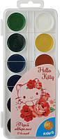 Краски акварельные hello kitty, hk15-061  12 цветов