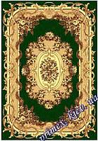 """Синтетический прямоугольный ковер эконом-сегмента Gold Karat """"Цветочная арка"""", цвет бежево-зеленый"""