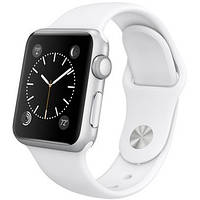 Apple Watch Sport 38mm Silver Aluminum Case with White Sport Band ( MJ2T2 )