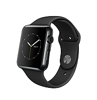 42mm Space Black Stainless Steel Case with Black Sport Band (MLC82)