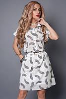 Платье свободного кроя  475-17