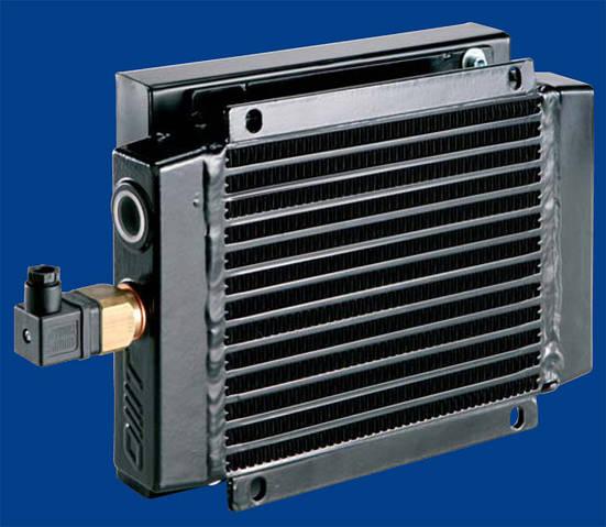 Воздушный маслоохладитель ST10-80V24DC 10-80л/мин OMT