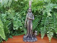 Коллекционная статуэтка Veronese Египетская царица с кошкой WU76648A4