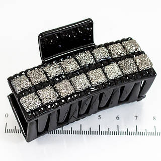 Краб средний, черные камни