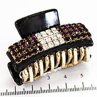 Краб маленький в стразах (4,5 см, 5 рядов)