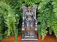 Коллекционная статуэтка Veronese Египетская царица на троне WU75637V4