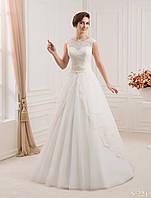 Элегантное свадебное платье  с многофункциональной юбкой