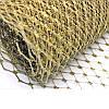 Вуаль шляпная Золото 22x50 cм