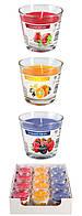 Ароматические свечи BISPOL sn90о набор фруктовый