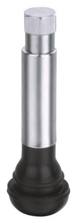 Вентиль для бескамерных шин легковой, удлиненный TR 418 хром