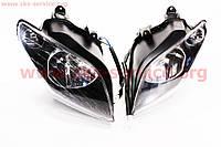 Фара передняя комплект 2 штуки  левая и правая   на скутер Viper - Tornado