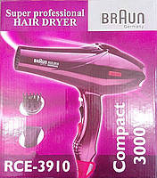 Фен для сушки волос Braun Super Professional Hair Dryer RCE-3910