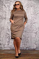 Повседневное платье больших размеров (рр 48-94)