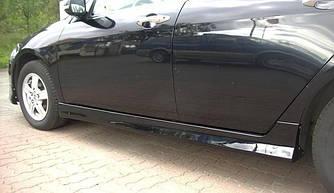 Накладки на пороги тюнинг обвес Honda Accord 7 (02-06) стиль Type-R