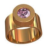 Кольцо  женское серебряное Жасмин  111080, фото 2