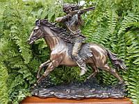 Коллекционная статуэтка Veronese Индеец на коне 74241A4