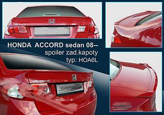Спойлер сабля тюнинг Honda Accord 8