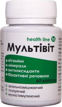 Мультивит 60 таблеток  натуральные витамины Витера Украина
