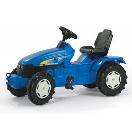 Трактор New holland синий Rolly Toys 036219, фото 2