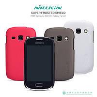Чехол Nillkin для Samsung s6812 Galaxy Fame Duos + защитная пленка