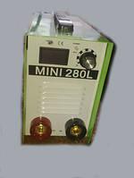 Инверторный сварочный аппарат Герой MMA-280 мини алюминиевый кейс