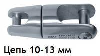 Нержавеющий вертлюг якорный, для цепи 10-13 мм
