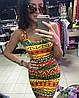 Платье-майка с ярким принтом, фото 4