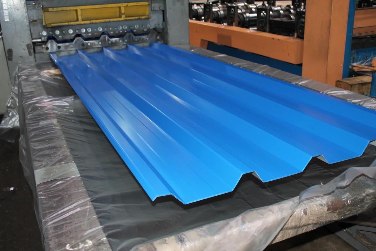Профнастил H-44 RAL 8017(коричневий)товщина 0,4