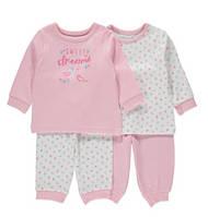 Пижамы детские для девочек 18-24 мес  Набором и поштучно George (Англия)