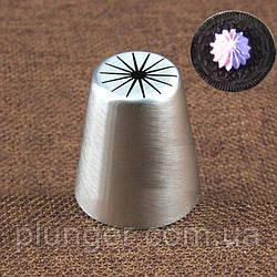 Насадка кондитерська велика, №623, Квітка