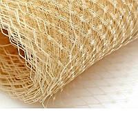 Вуаль шляпная Бежевая 23x50 cм