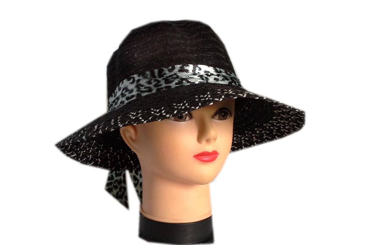 Женская  шляпа из льна