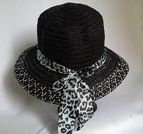 Женская  шляпа из льна, фото 2