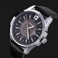 Мужские часы Curren Chronometer 8123 silver-black