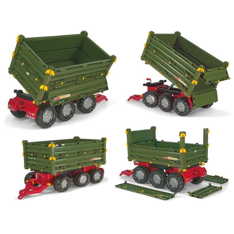 Прицеп на трактор Rolly Toys  125012