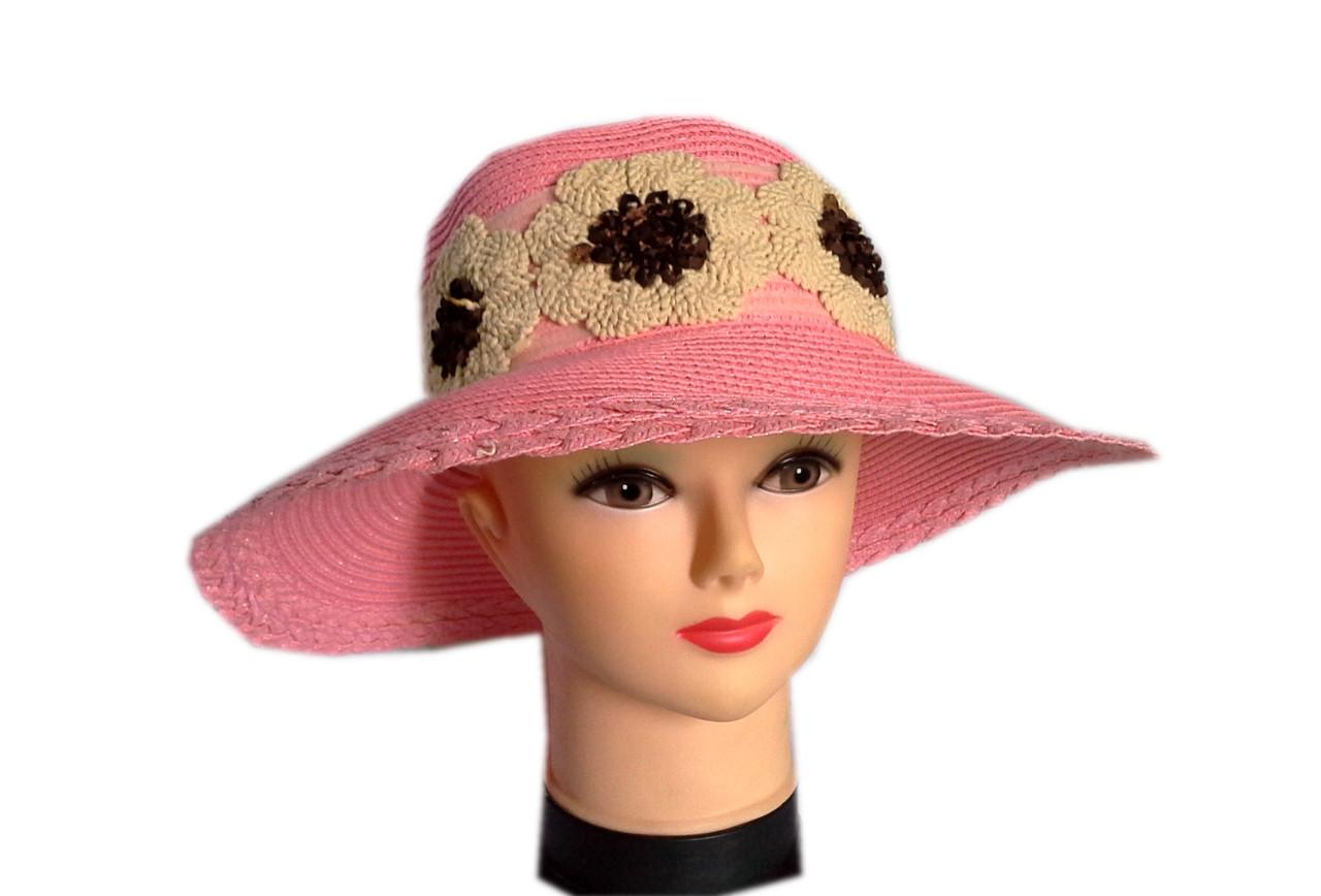Льняная шляпа ромашки