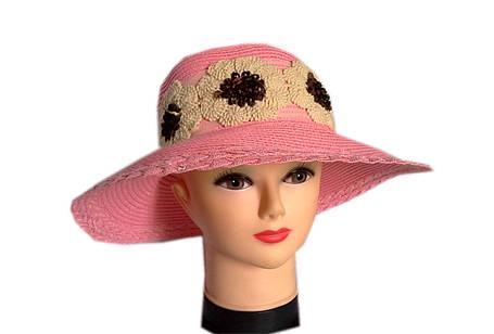 Льняная шляпа ромашки, фото 2