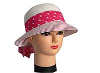 Женская  шляпа горошек