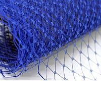 Вуаль шляпная Синяя 23x50 cм