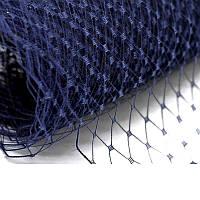 Вуаль шляпная Черника 22x50 cм, фото 1