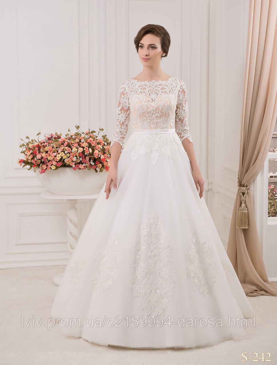 свадебные платья фото с гипюром