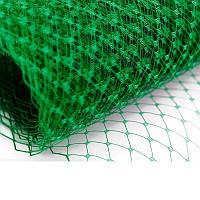 Вуаль шляпная Зеленая 23x50 cм