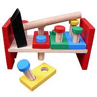 "Деревянная игрушка Komarovtoys ""Стучалка"" (А315)"