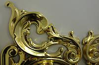 Золочение сусальным золотом деревянной резьбы Царских врат иконостаса