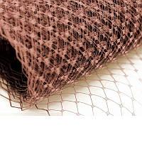 Вуаль шляпная Латте 23x50 cм, фото 1